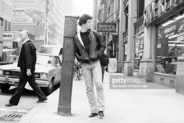 Musician Lou Reed poses for a portrait on the street in May 1980 in New York City New York