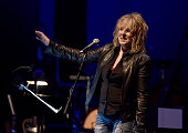 Musician Lucinda Williams performs onstage during The David Lynch Foundation's DLF Live Celebration of the 60th Anniversary of Allen Ginsberg's...