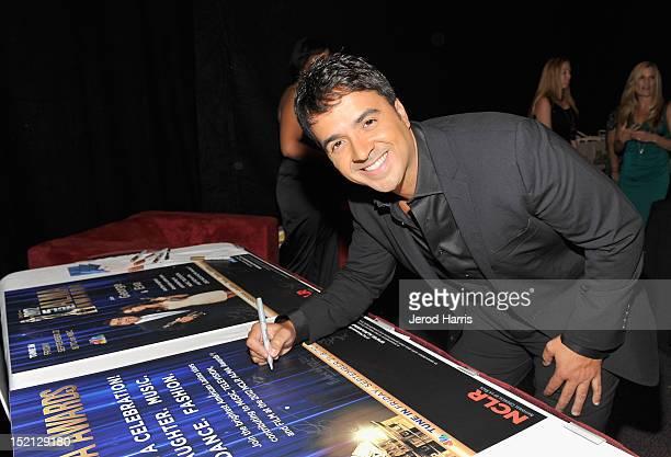 Musician Luis Fonsi attends the 2012 NCLR ALMA Awards at Pasadena Civic Auditorium on September 16 2012 in Pasadena California