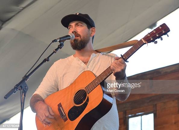 Musician Luke Amelang performs onstage during day three of 2015 Stagecoach California's Country Music Festival at The Empire Polo Club on April 26...