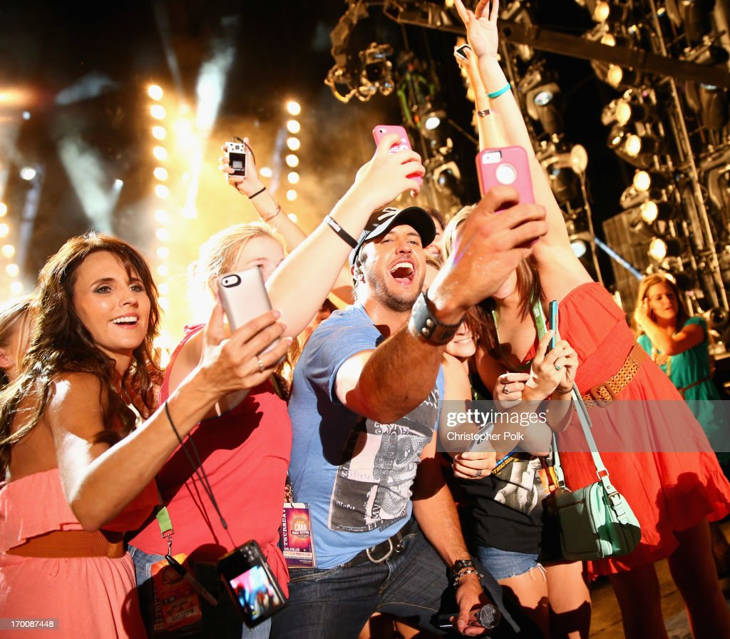 Musician Luke Bryan performs during the 2013 CMA Music Festival on June 6, 2013 in Nashville, Tennessee.