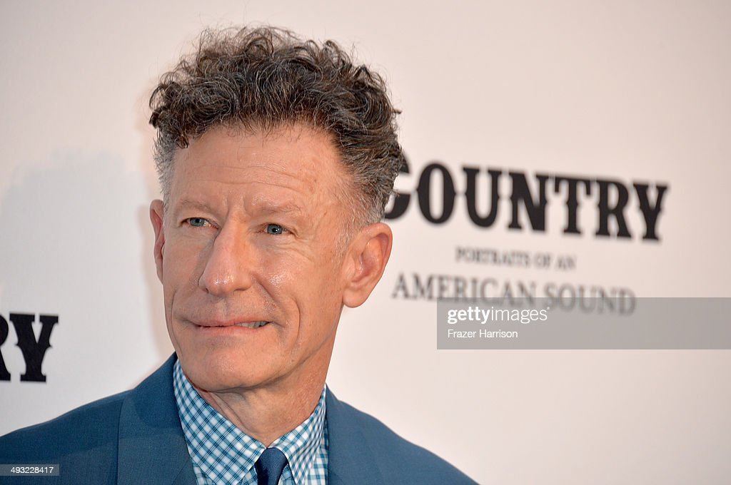 Musician Lyle Lovett attends the Annenberg Space for Photography Opening Celebration for 'Country, Portraits of an American Sound' at the Annenberg Space for Photography on May 22, 2014 in Century City, California.