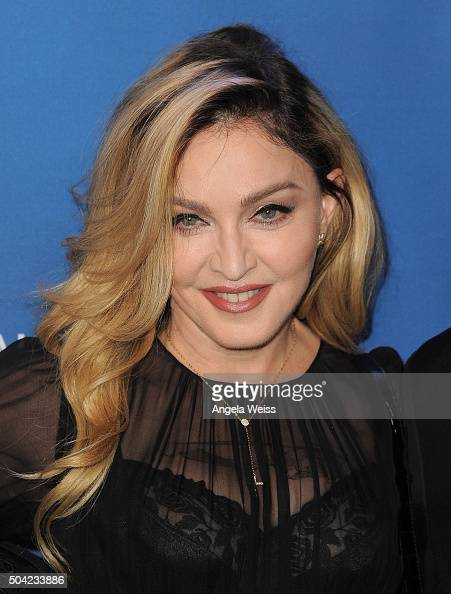 Musician Madonna attends the 5th Annual Sean Penn Friends HELP HAITI HOME Gala benefiting J/P Haitian Relief Organization at Montage Hotel on January...