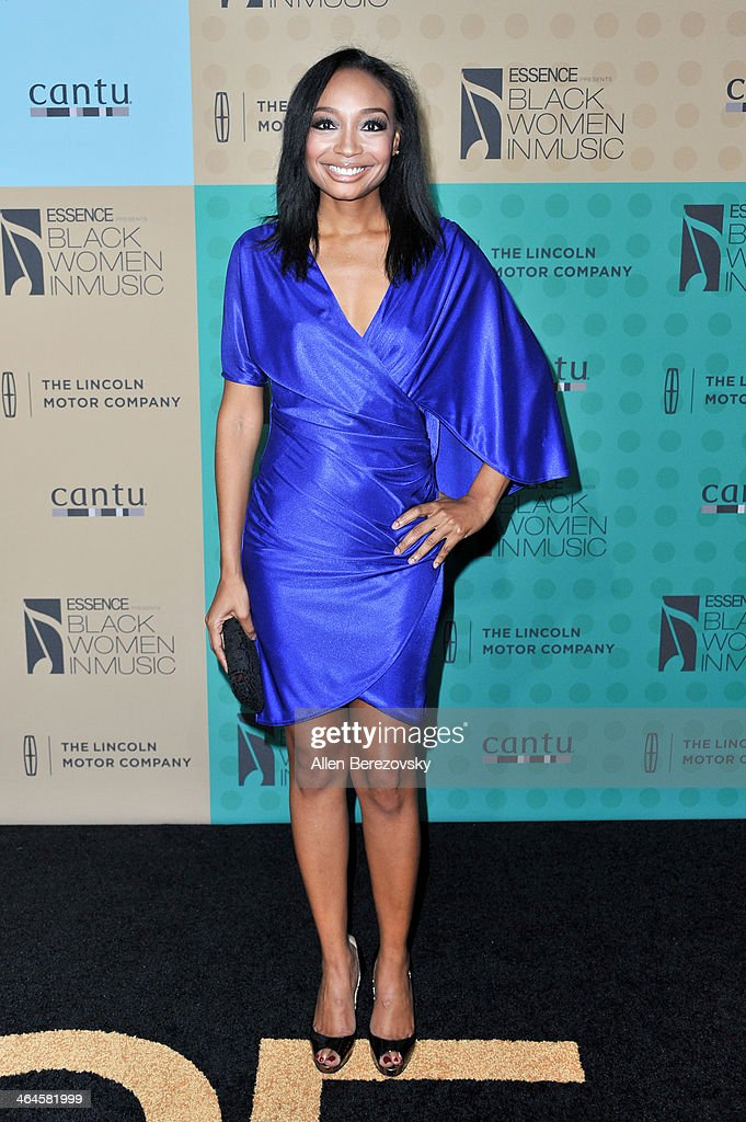 Musician <a gi-track='captionPersonalityLinkClicked' href=/galleries/search?phrase=Malina+Moye&family=editorial&specificpeople=797314 ng-click='$event.stopPropagation()'>Malina Moye</a> attends Essence Magazine's 5th Annual Black Women In Music Event at 1 OAK on January 22, 2014 in West Hollywood, California.
