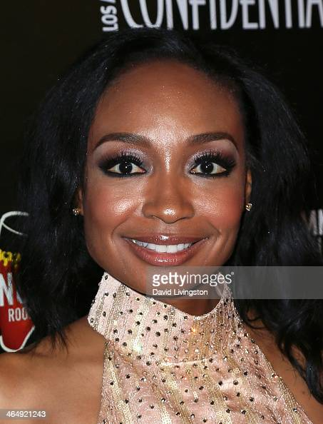 Musician Malina Moye attends Los Angeles Confidential Magazine CBS Radio and The GRAMMY Museum celebrate Grammy nominee and cover star Robin Thicke...