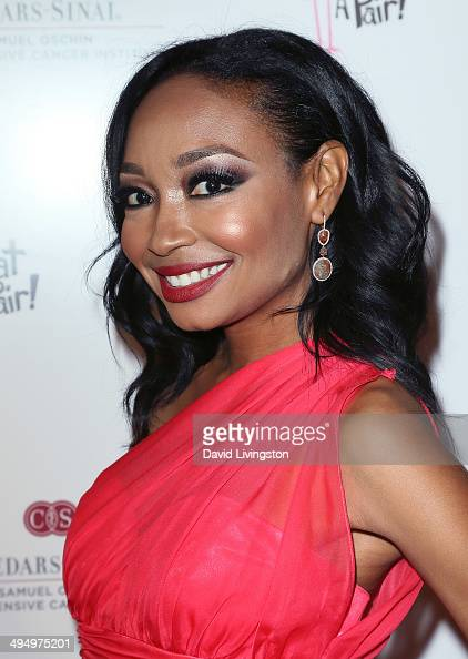 Musician Malina Moye attends the 10th anniversary What A Pair benefit concert at the Saban Theatre on May 31 2014 in Beverly Hills California