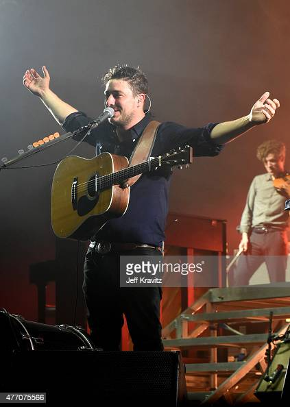Musician Marcus Mumford of Mumford Sons performs onstage at What Stage during Day 3 of the 2015 Bonnaroo Music And Arts Festival on June 13 2015 in...