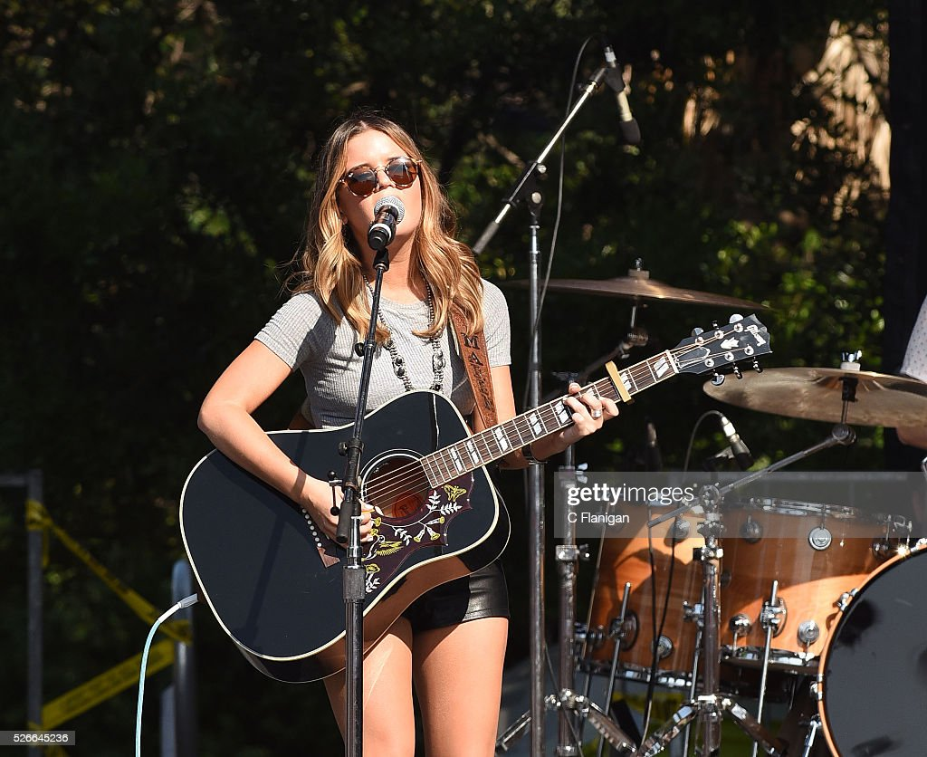 Musician Maren Morris performs during the Daytime Village at the 2016 iHeartCountry Festival at The Frank Erwin Center on April 30, 2016 in Austin, Texas.