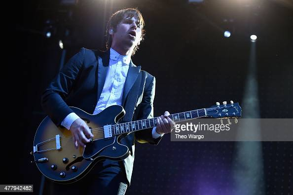 Musician Mark Foster of Foster the People performs onstage during day 3 of the Firefly Music Festival on June 20 2015 in Dover Delaware