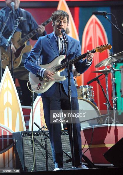 Musician Mark Foster onstage at the 54th Annual GRAMMY Awards held at Staples Center on February 12 2012 in Los Angeles California