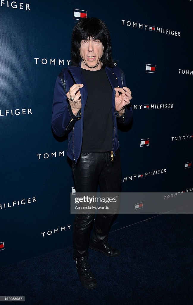 Musician Marky Ramone arrives at the Tommy Hilfiger West Coast Flagship Grand Opening Event at Tommy Hilfiger West Hollywood on February 13, 2013 in West Hollywood, California.