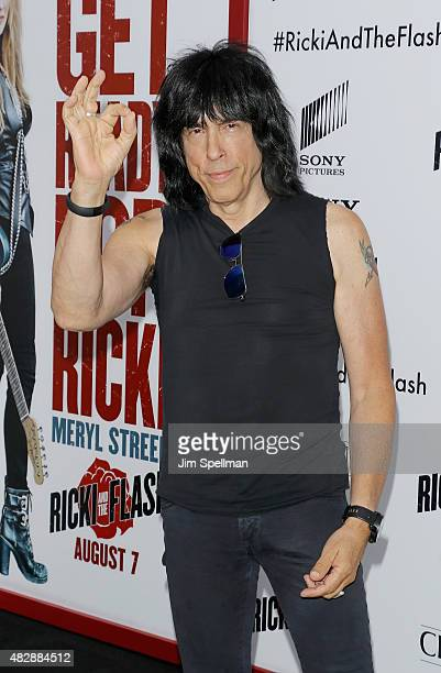 Musician Marky Ramone attends the 'Ricki And The Flash' New York premiere at AMC Lincoln Square Theater on August 3 2015 in New York City