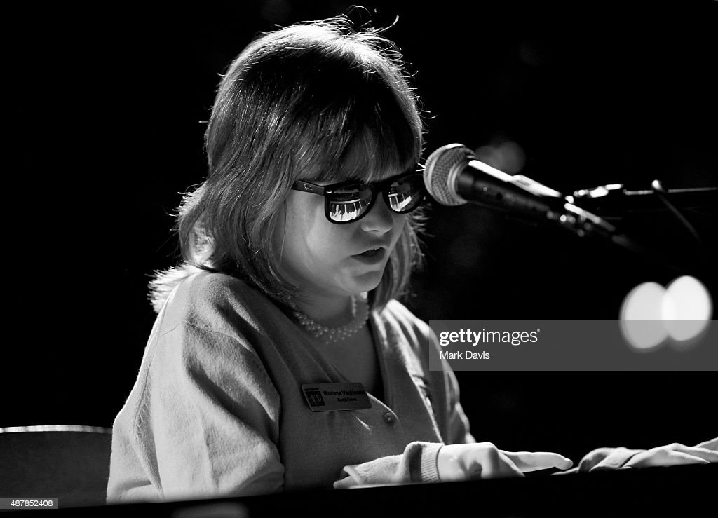 Musician <a gi-track='captionPersonalityLinkClicked' href=/galleries/search?phrase=Marlana+VanHoose&family=editorial&specificpeople=10060993 ng-click='$event.stopPropagation()'>Marlana VanHoose</a> performs onstage at the Official Opening Ceremonies of The Best Buddies Challenge during the Best Buddies Hearst Castle Challenge at Quail Lodge Golf Club on September 11, 2015 in Carmel, California.