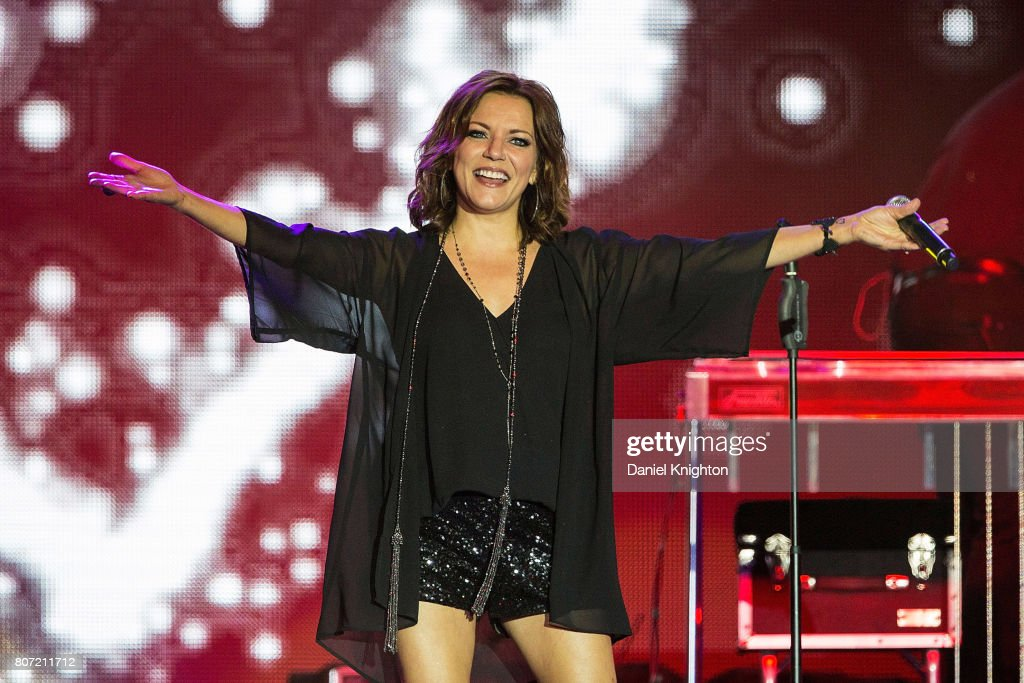 Musician Martina McBride performs on stage at Viejas Concerts In The Park on July 3, 2017 in San Diego, California.