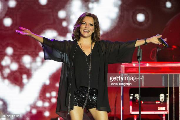 Musician Martina McBride performs on stage at Viejas Concerts In The Park on July 3 2017 in San Diego California