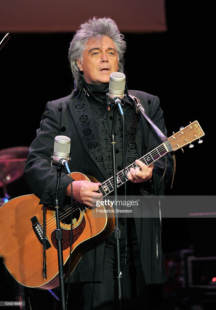 Musician <a gi-track='captionPersonalityLinkClicked' href=/galleries/search?phrase=Marty+Stuart+-+Musician&family=editorial&specificpeople=799797 ng-click='$event.stopPropagation()'>Marty Stuart</a> performs during the 4th Annual ACM Honors at the Ryman Auditorium on September 20, 2010 in Nashville, Tennessee.