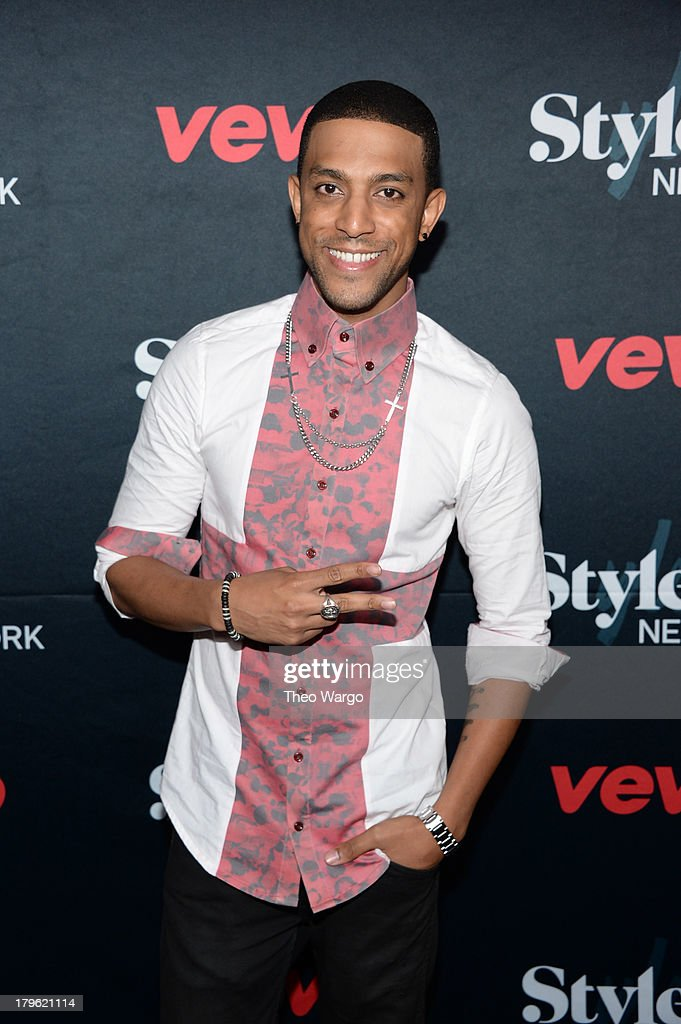 Musician Mateo attends the VEVO and Styled To Rock Celebration Hosted by Actress, Model and 'Styled to Rock' Mentor Erin Wasson with Performances by Bridget Kelly & Cazzette on September 5, 2013 in New York City.