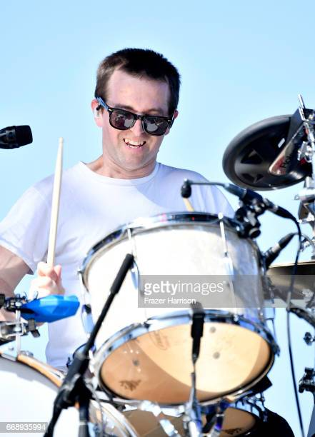 Musician Matt Barrick of Banks Steelz performs at the Outdoor Stage during day 2 of the Coachella Valley Music And Arts Festival at the Empire Polo...