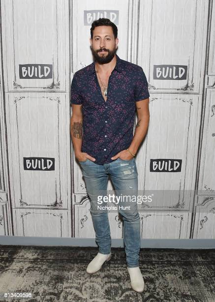 Musician Matt Ramsey of Old Dominion attends Build to Discuss The Band's New Album 'Happy Endings' at Build Studio on July 12 2017 in New York City