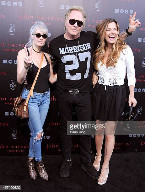 Musician Matt Sorum and guests attend the International Peace Day celebration at John Varvatos on September 21 2014 in Los Angeles California