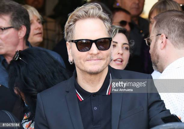 Musician Matt Sorum attends the Ringo Starr 'Peace Love' birthday celebration at Capitol Records Tower on July 7 2017 in Los Angeles California