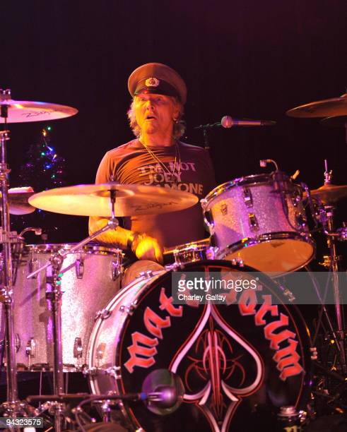Musician Matt Sorum performs at Camp Freddy and Friends presented by Onitsuka Tiger at The Roxy Theatre on December 11 2009 in Hollywood California