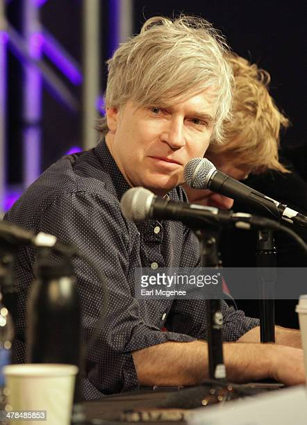 Musician Matthew Caws speaks onstage at Warehouse Songs and Stories during the 2014 SXSW Music Film Interactive at Austin Convention Center on March...