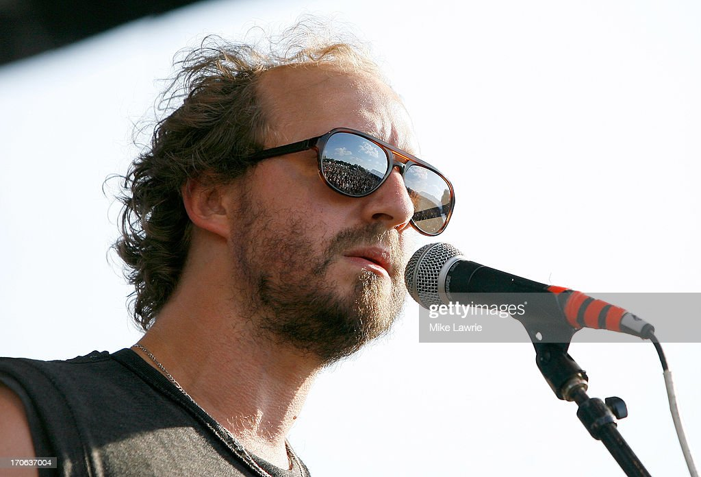 Musician Matthew Houck of Phosphorescent performs during the 2013 Northside Festival at McCarren Park on June 15, 2013 in the Brooklyn borough of New York City.