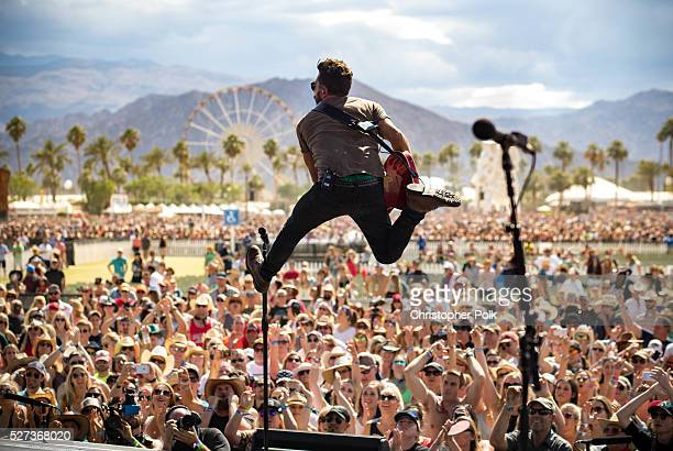 Musician Matthew Ramsey of Old Dominion performs onstage during the 2016 Stagecoach California's Country Music Festival at Empire Polo Club on May 01...