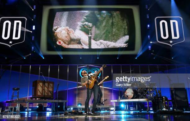 Musician Matthew Ramsey of Old Dominion performs onstage during the 2017 iHeartCountry Festival A Music Experience by ATT at The Frank Erwin Center...