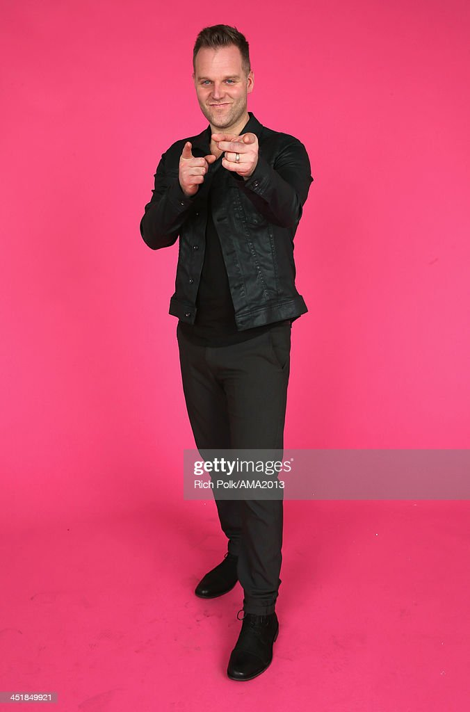 Musician Matthew West poses for a portrait during the 2013 American Music Awards at Nokia Theatre L.A. Live on November 24, 2013 in Los Angeles, California.