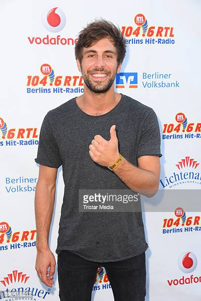 Musician Max Giesinger attends the Stars For Free 2016 Open Air Festival on August 27 2016 in Berlin Germany