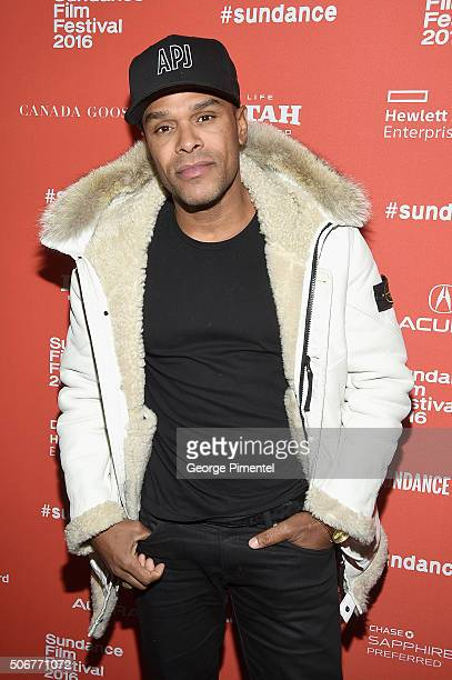 Musician Maxwell attends the 'The Birth Of A Nation' Premiere during the 2016 Sundance Film Festival at Eccles Center Theatre on January 25 2016 in...