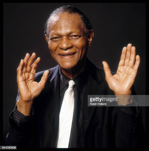 Musician McCoy Tyner photographed on August 18 in New York City