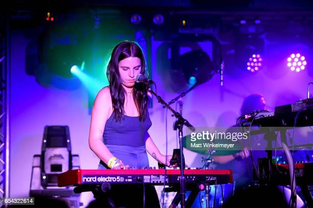 Musician McKenzie Griffin performs during the Spoon SXSW Residency 2017 SXSW Conference and Festivals on March 16 2017 in Austin Texas