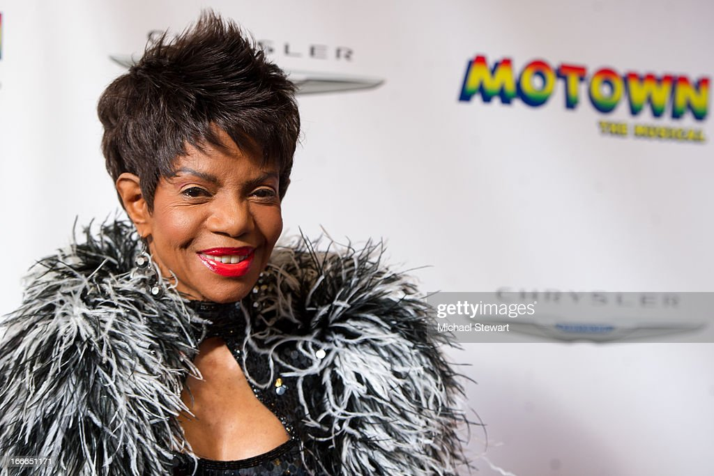 Musician Melba Moore attends the Broadway opening night for 'Motown: The Musical' at Lunt-Fontanne Theatre on April 14, 2013 in New York City.