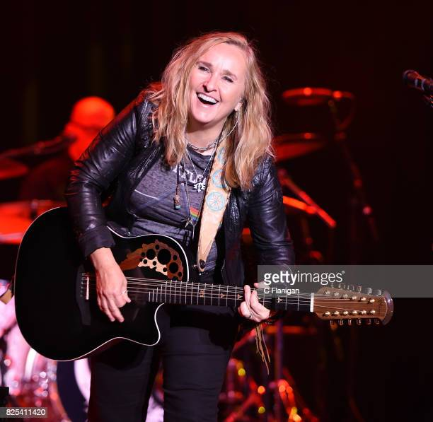 Musician Melissa Etheridge performs at The Fillmore on August 1 2017 in San Francisco California