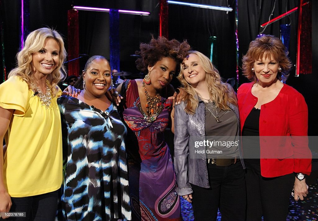 THE VIEW - Musician Melissa Etheridge was the guest co-host and Musician Macy Gray was the guest on 'THE VIEW,' Wednesday, June 23, 2010 (11:00 a.m. - 12:00 noon, ET) airing on the ABC Television Network. VW10 (Photo by Heidi Gutman/ABC via Getty Images) ELISABETH