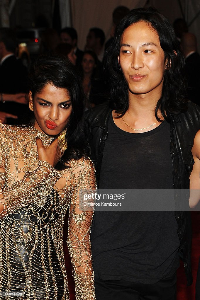 Musician M.I.A and designer Alexander Wang attend the Costume Institute Gala Benefit to celebrate the opening of the 'American Woman: Fashioning a National Identity' exhibition at The Metropolitan Museum of Art on May 3, 2010 in New York City.