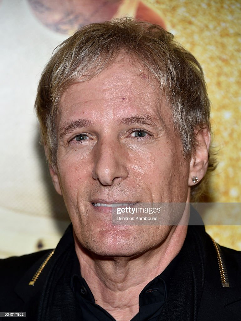 Musician <a gi-track='captionPersonalityLinkClicked' href=/galleries/search?phrase=Michael+Bolton&family=editorial&specificpeople=208230 ng-click='$event.stopPropagation()'>Michael Bolton</a> attends 'Popstar: Never Stop Never Stopping' premiere at AMC Loews Lincoln Square 13 theater on May 24, 2016 in New York City.