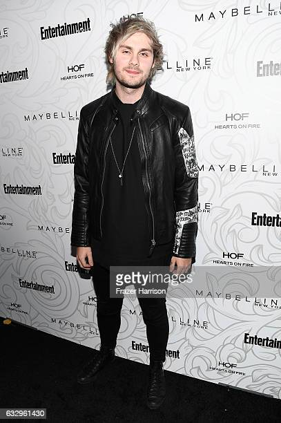 Musician Michael Clifford of 5 Seconds of Summer attends the Entertainment Weekly Celebration of SAG Award Nominees sponsored by Maybelline New York...