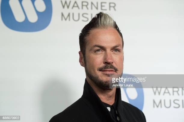 Musician Michael Fitzpatrick attends the Warner Music Group's Annual GRAMMY Celebration at Milk Studios on February 12 2017 in Hollywood California