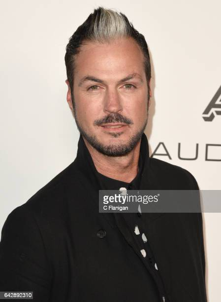 Musician Michael Fitzpatrick from Fitz and The Tantrums attends the Warner Music Group GRAMMY Party at Milk Studios on February 12 2017 in Hollywood...