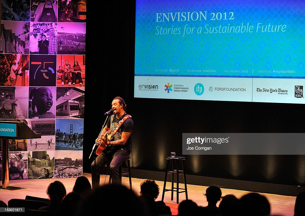 Musician <a gi-track='captionPersonalityLinkClicked' href=/galleries/search?phrase=Michael+Franti&family=editorial&specificpeople=240465 ng-click='$event.stopPropagation()'>Michael Franti</a> attends 2012 Sustainable Operations Summit at the Hilton New York on April 17, 2012 in New York City.