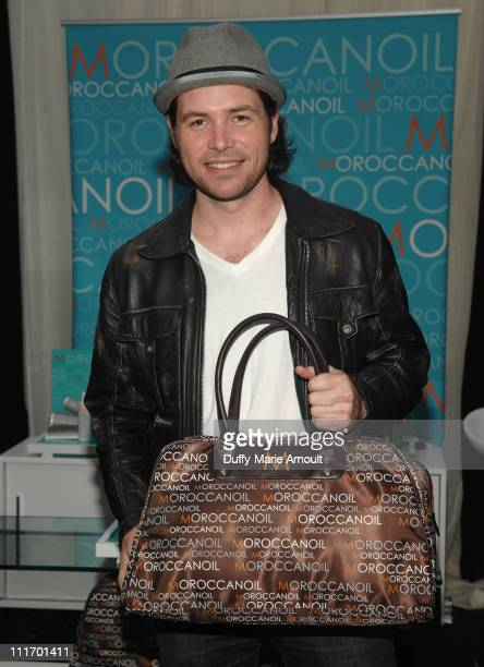Musician Michael Johns attends the 52nd Annual GRAMMY Awards GRAMMY Gift Lounge Day 2 held at the at Staples Center on January 29 2010 in Los Angeles...