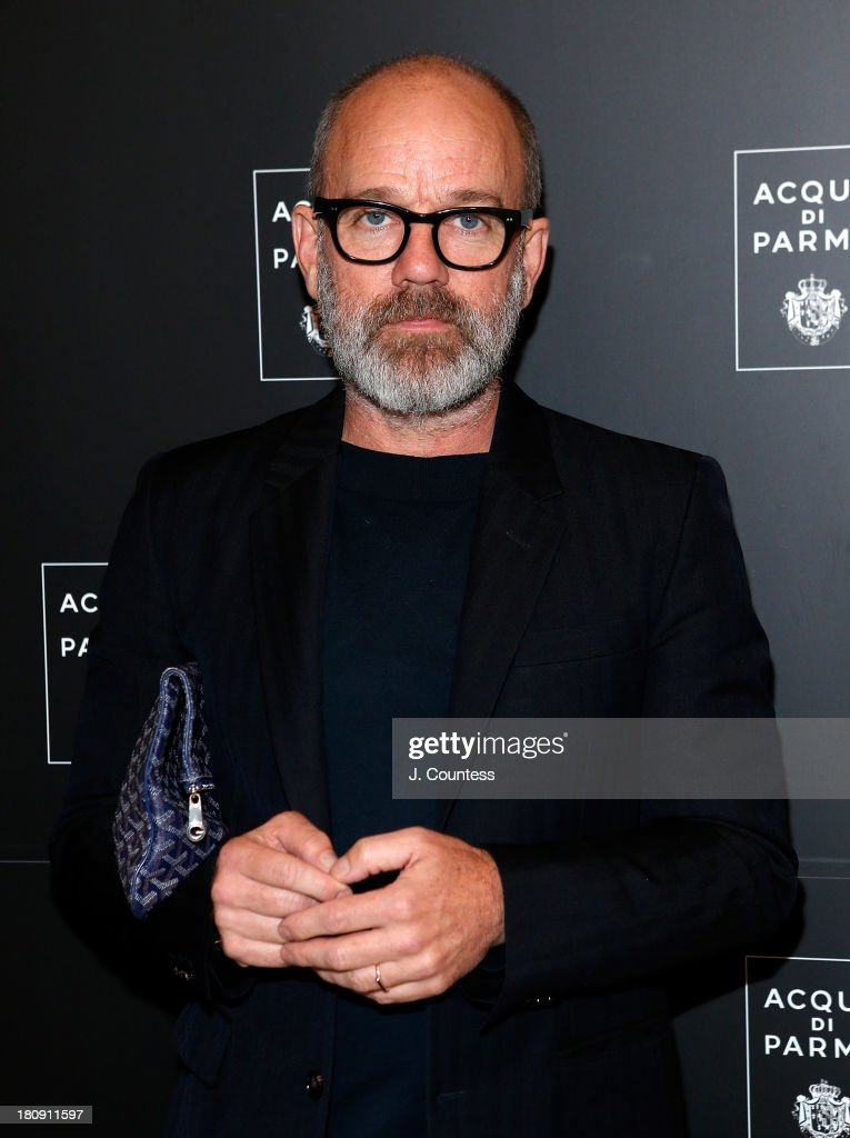 Musician <a gi-track='captionPersonalityLinkClicked' href=/galleries/search?phrase=Michael+Stipe&family=editorial&specificpeople=178318 ng-click='$event.stopPropagation()'>Michael Stipe</a> attends an evening of dance featuring Roberto Bolle and friends at Manhattan Theatre Club at New York City Center on September 17, 2013 in New York City.