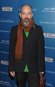 Musician Michael Stipe attends The Cinema Society and Brooks Brothers screening of 'The Great Buck Howard' at the Tribeca Grand Screening Room on...