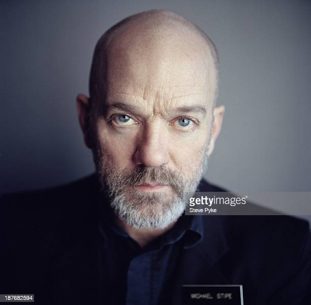 Musician Michael Stipe is photographed for The Guardian Magazine on January 28 2011 in New York City