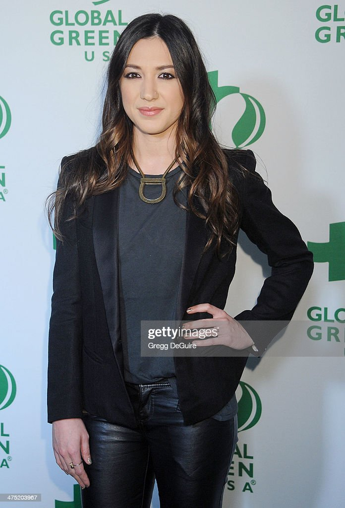 Musician Michelle Branch arrives at the Global Green USA's 11th Annual PreOscar Party at Avalon on February 26 2014 in Hollywood California