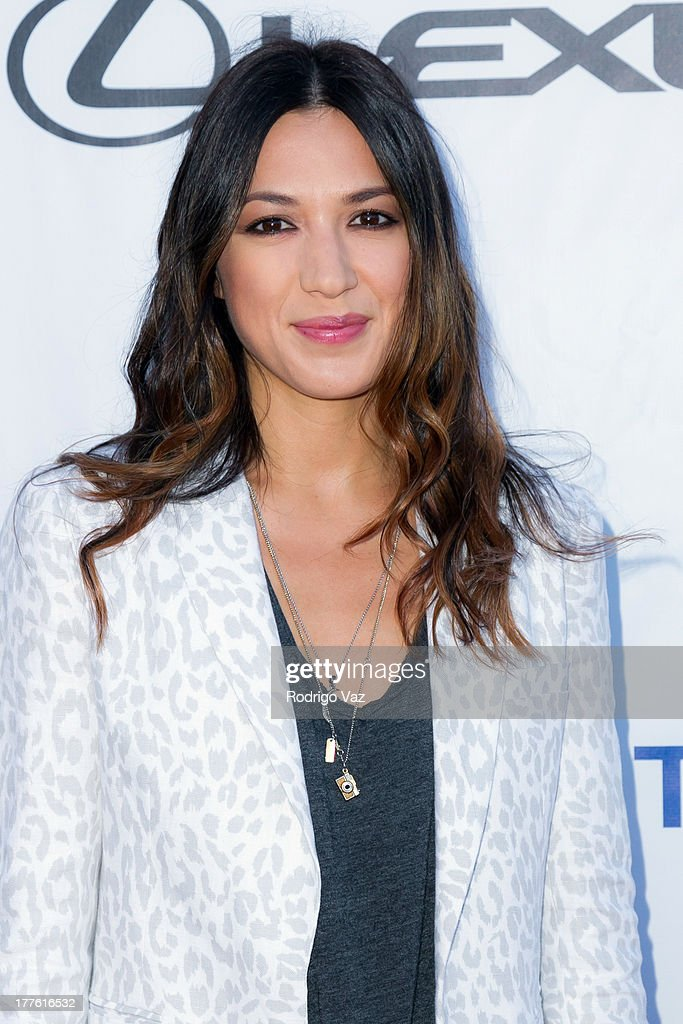 Musician Michelle Branch attends LEXUS Live On Grand at the 3rd Annual Los Angeles Food & Wine Festival Arrivals on August 24, 2013 in Los Angeles, California.